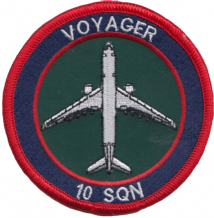 No. 10 Squadron Royal Air Force RAF Airbus Voyager Embroidered Patch